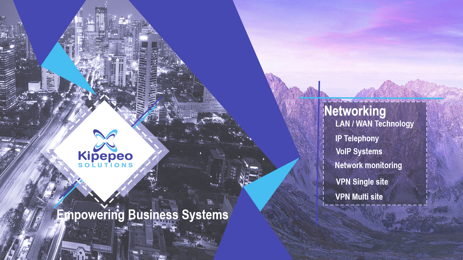 Kipepeo Solutions Networking