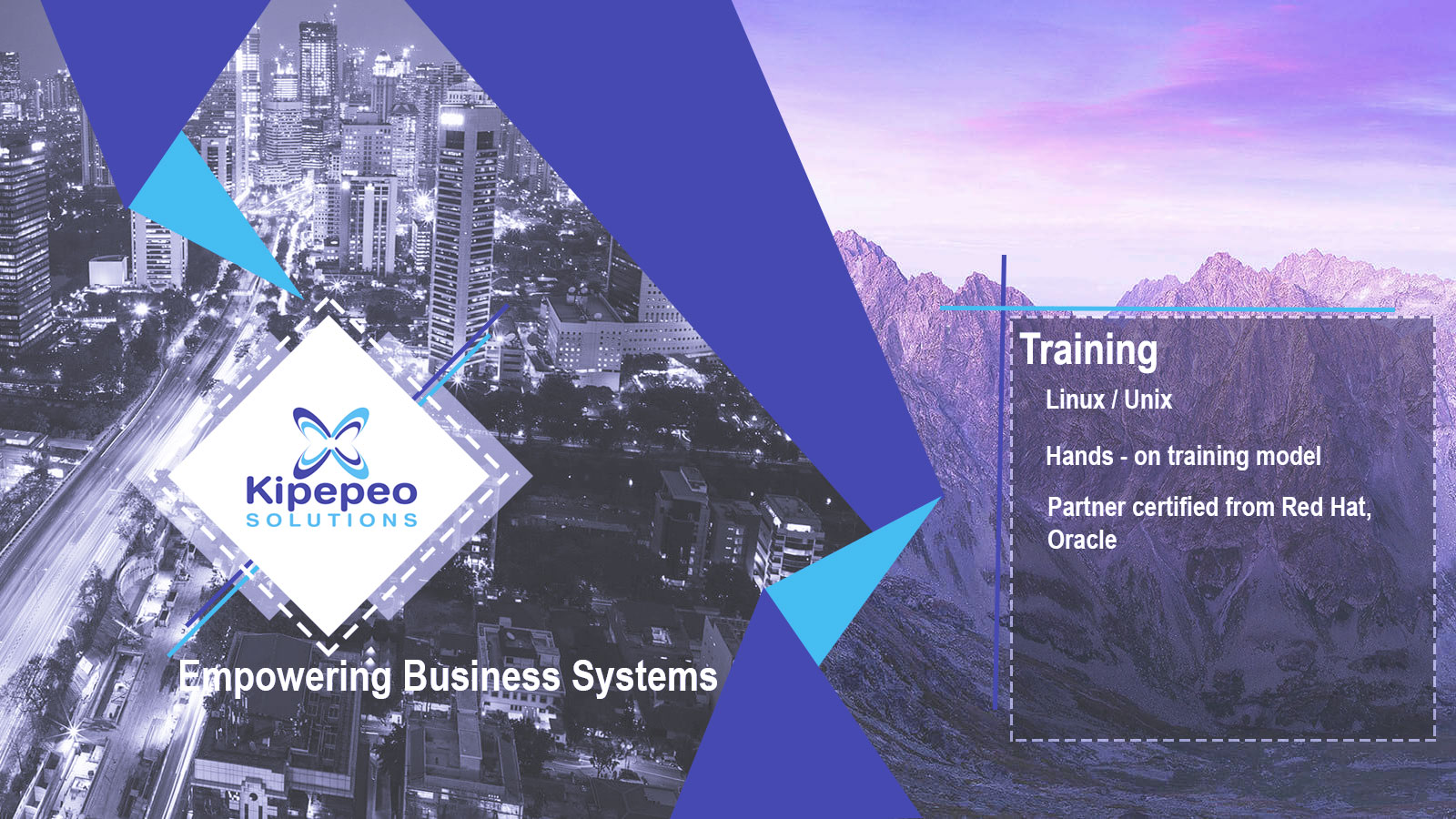Kipepeo Solutions Training